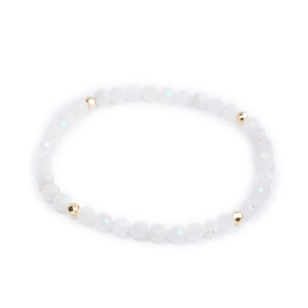 Moonstone Power Crystal Bracelet - Balance
