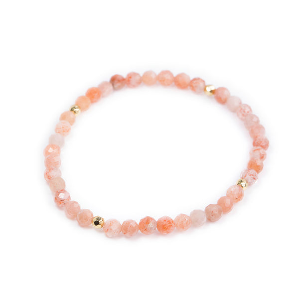 Sunstone Power Crystal Bracelet - Happiness