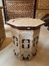 syrian mother of pearl side table