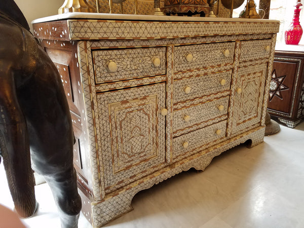 Syrian mother of pearl cabinet