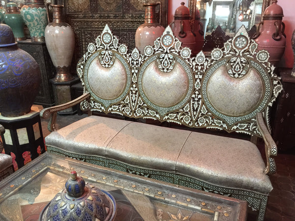 Royal mother of pearl living room set