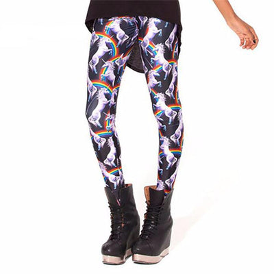 Unicorn Leggings - Arcoiris Premium