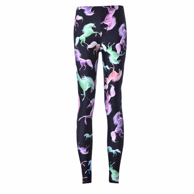 Unicorn Leggings - Neón
