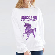 Sudadera - Unicorns Are Awesome