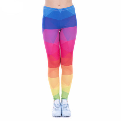 Rainbow Leggings - Calypso