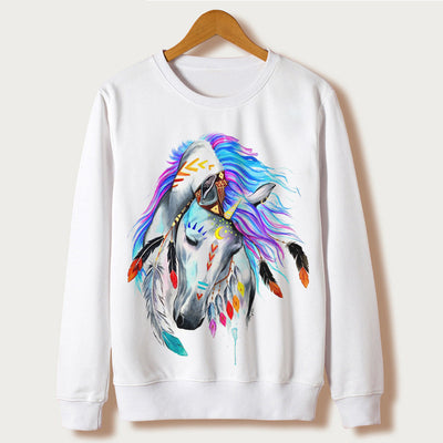 Sudadera Unicornio Art - Feather