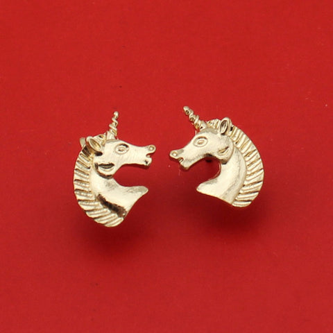 Pendientes Unicorn - Red