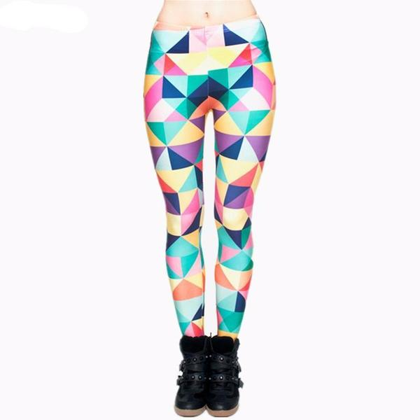Rainbow Leggings - Triangle
