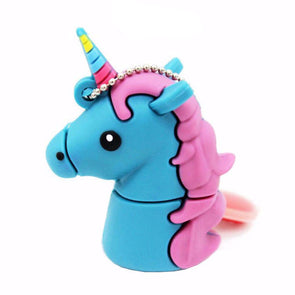 Unicornio USB - Blue