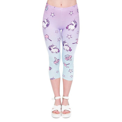 Unicornio Leggings Capry - Candy