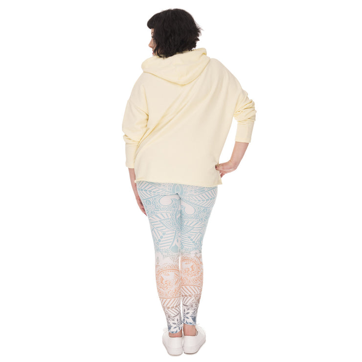 Rainbow Leggings Plus Size - Opal