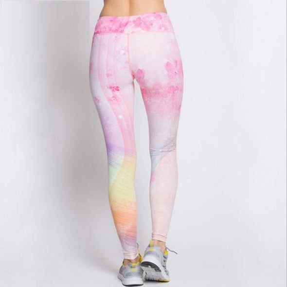Rainbow Leggings - Galaxy