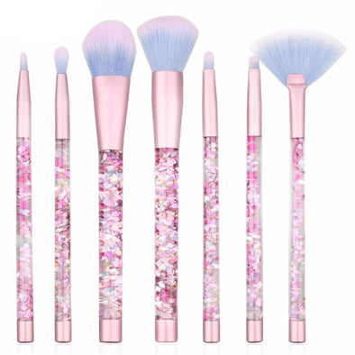 Brush Liquid&Glitter - Unicorn 7pcs