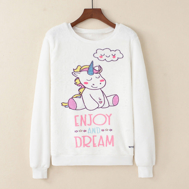Sudadera Plush - Enjoy and Dream