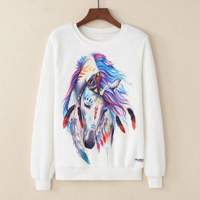 Sudadera Plush - Feather