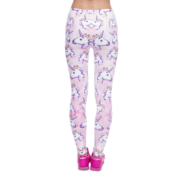 Unicornio Leggings - Emoji