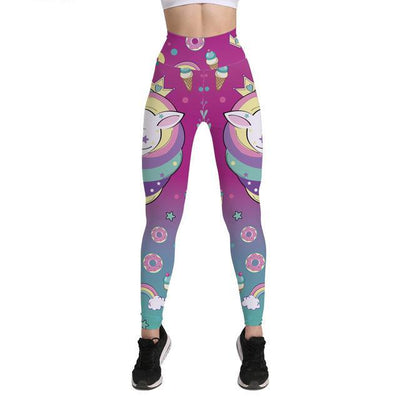 Unicornio leggings - Cup Cake