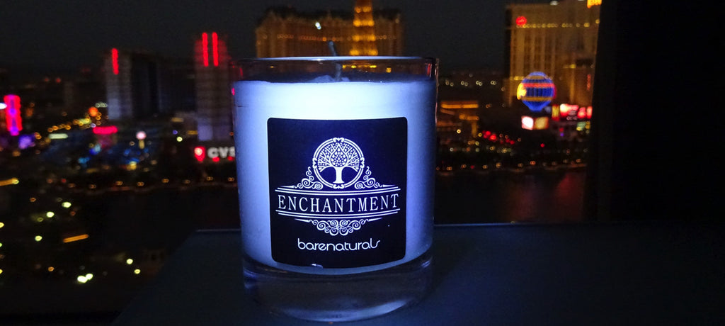 Barenaturals Enchantment - fun ways to light a candle