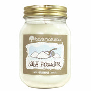 Barenatural Baby Powder Scented Candle
