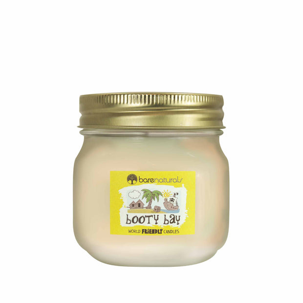 Barenaturals Booty Bay Scented Candle