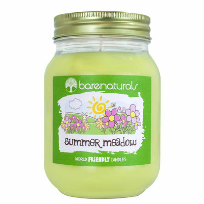 Barenaturals Summer Meadow Scented Candle