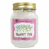 Barenaturals Sweet Pea Scented Candle