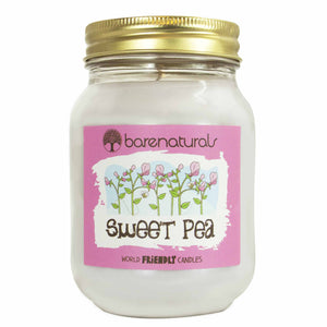 Sweet Pea Scented Candle