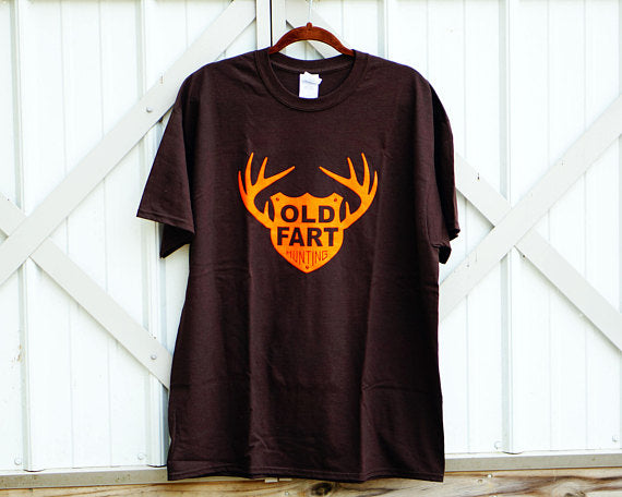 Old Fart Hunting Short Sleeve T-Shirt