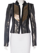 Herve Leger Vika Leather Jacket