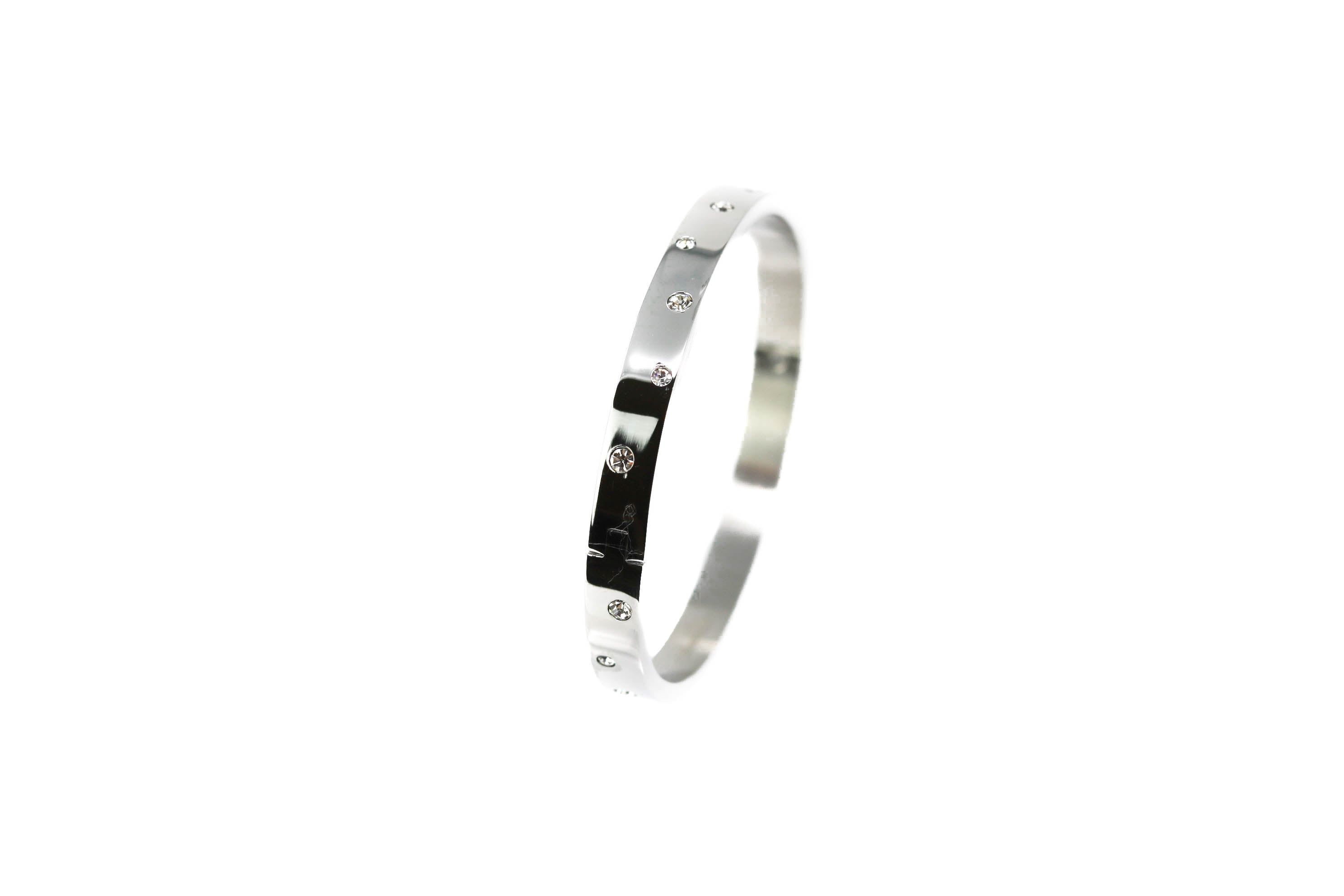 Silver Galaxy Sterling Silver Bangle