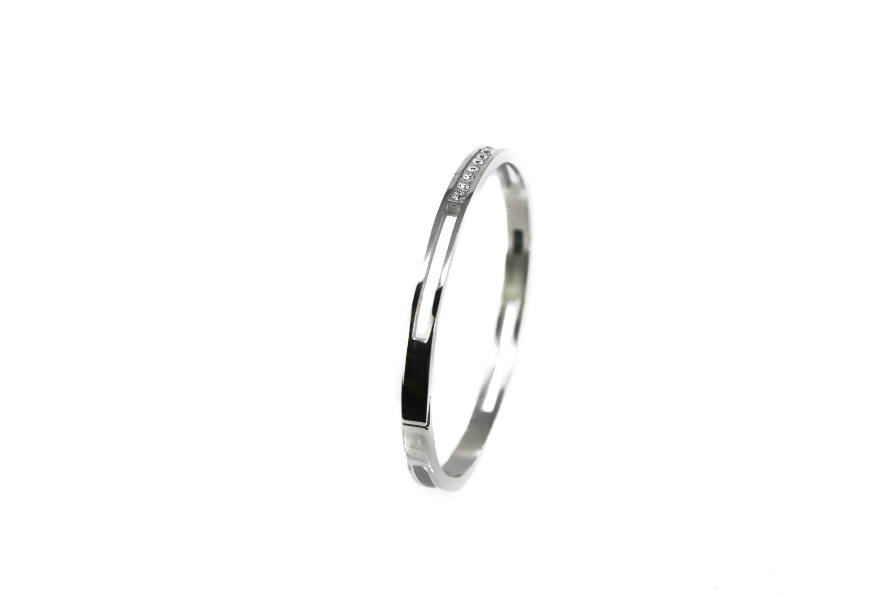 Silver Frost Sterling Silver Bangle