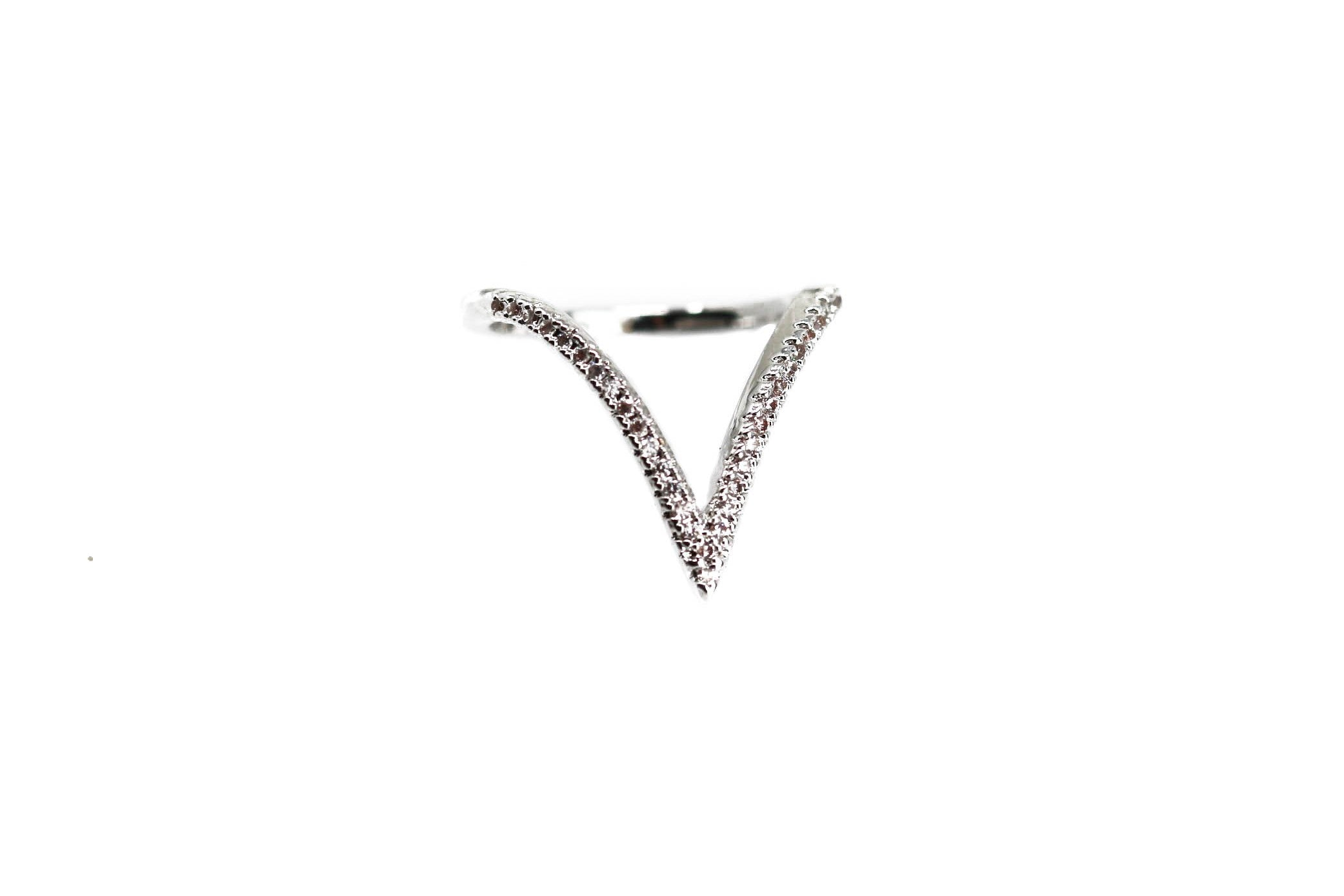 Apex Silver Silver Diamond Ring