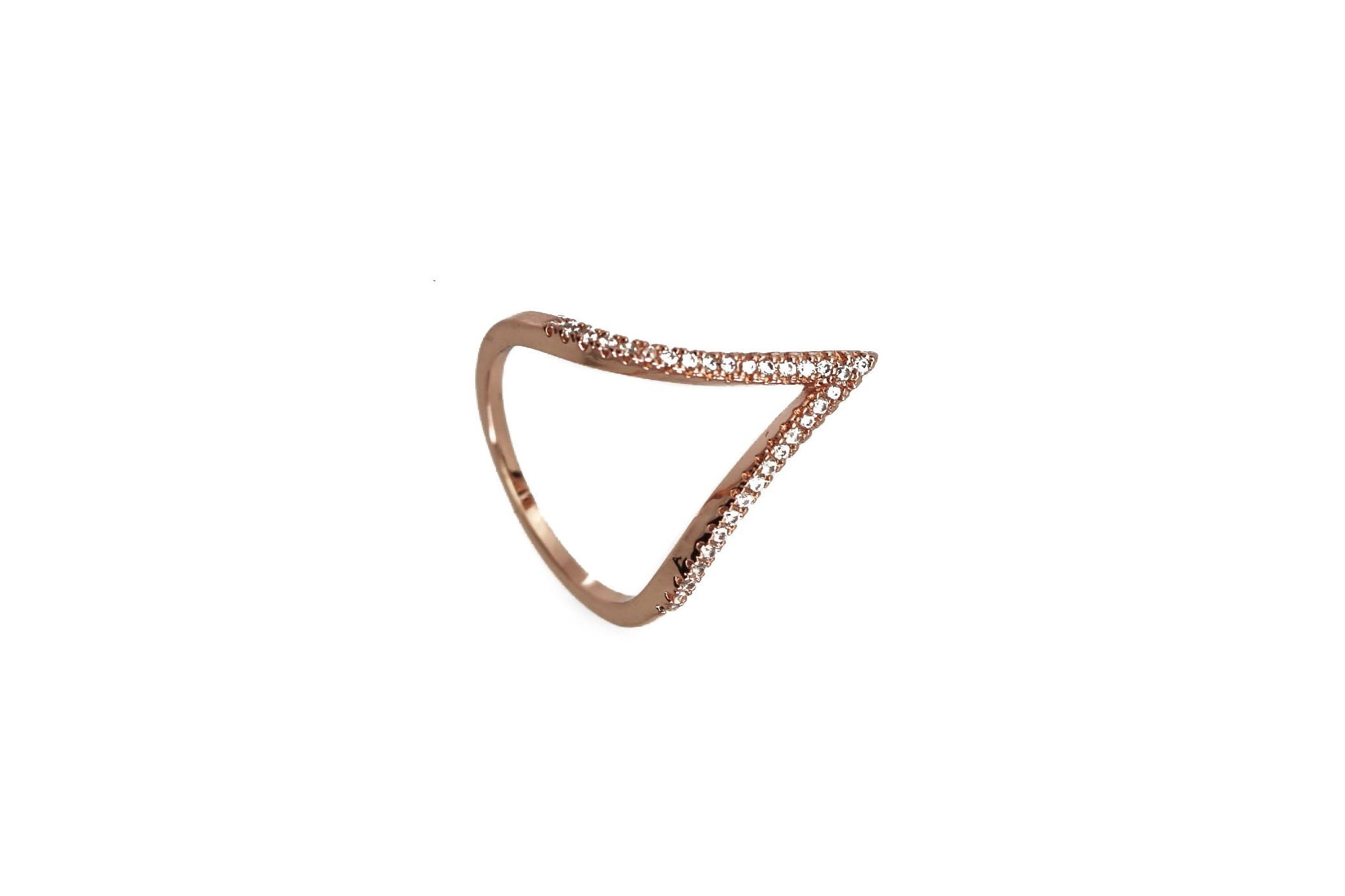 Apex Rose Rose Gold Ring