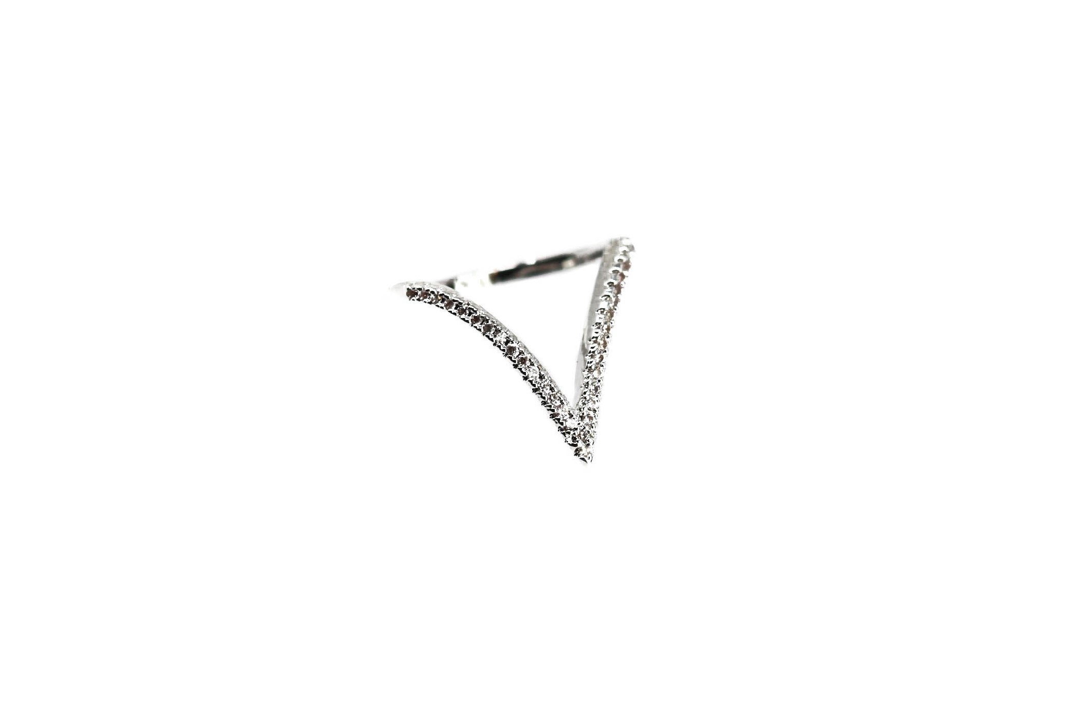 Apex Silver Silver Diamond Ring for Women