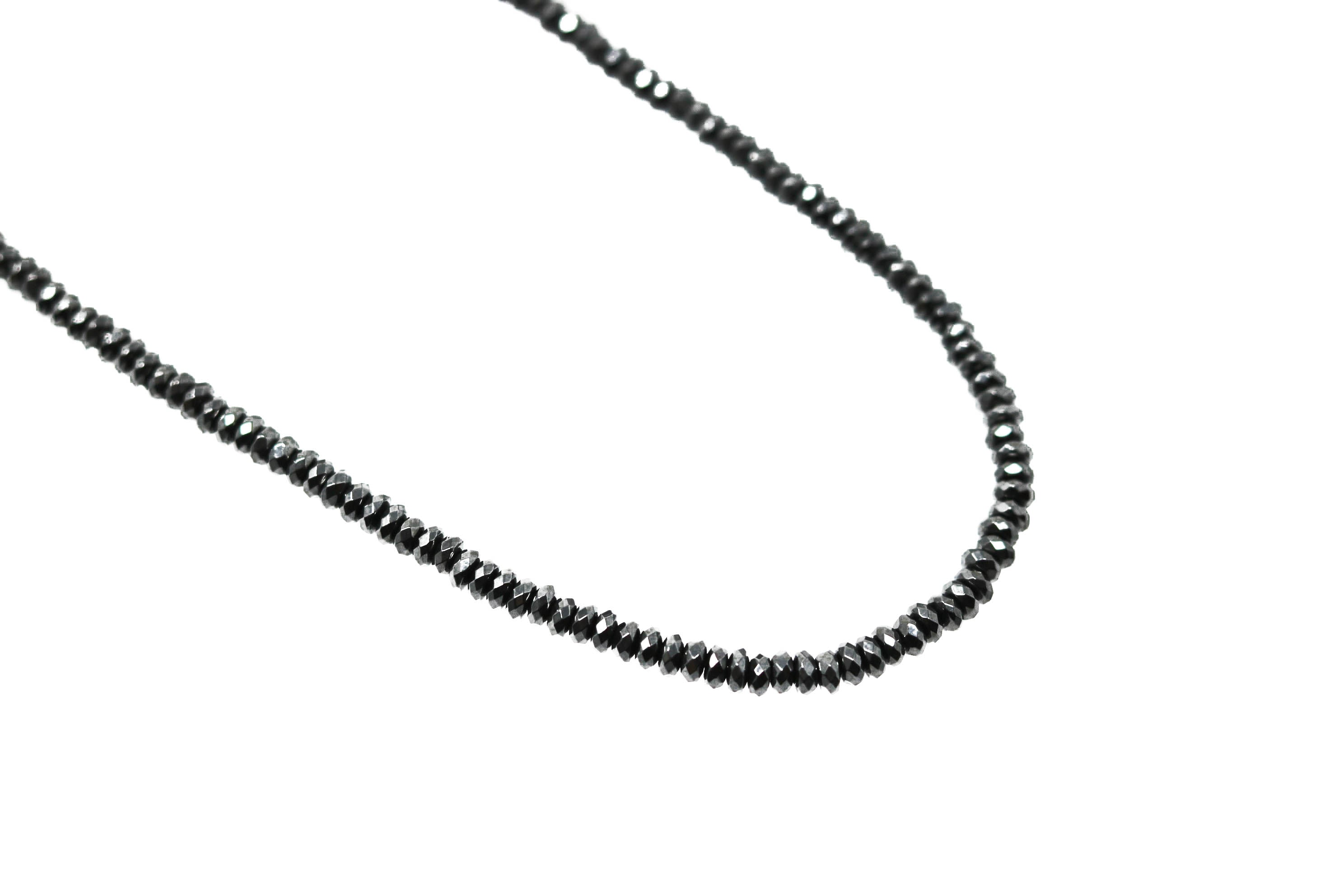 Black Knight Hemelite Black Necklace