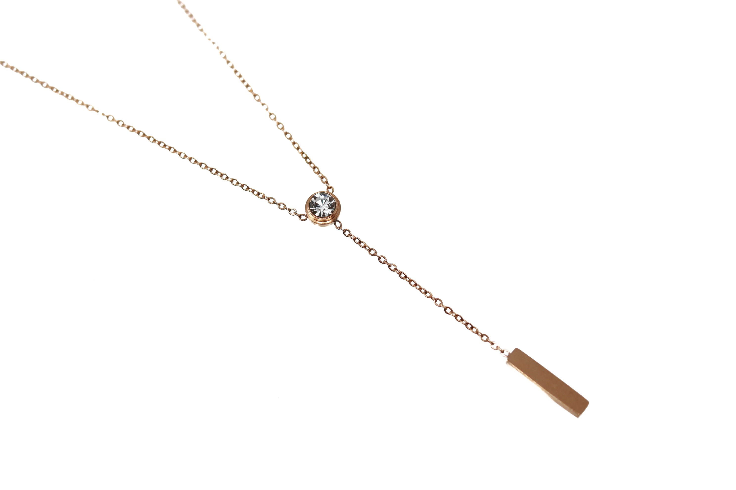 Rose Gold Drop Bar Rose Gold Drop Bar