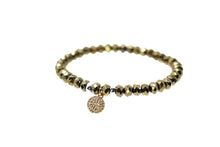 Load image into Gallery viewer, Gold Beaded Bracelet