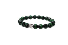 Load image into Gallery viewer, Emerald Green Beaded Bracelet