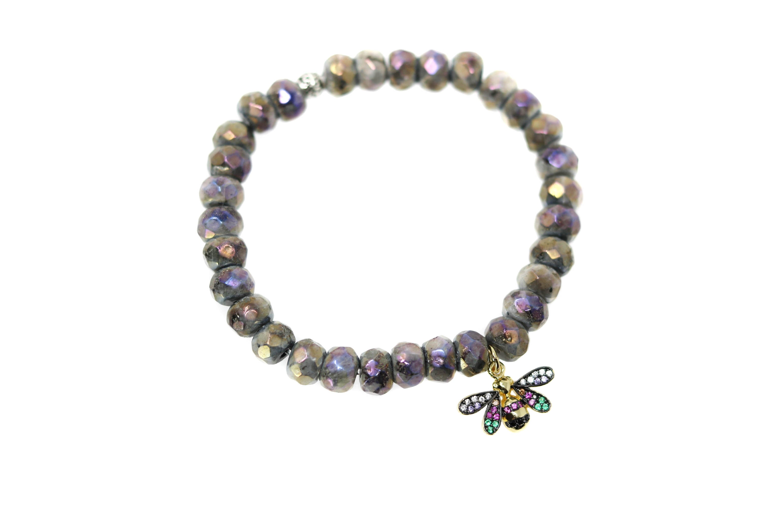 Rainbow Bee Gucci Insect Bracelet