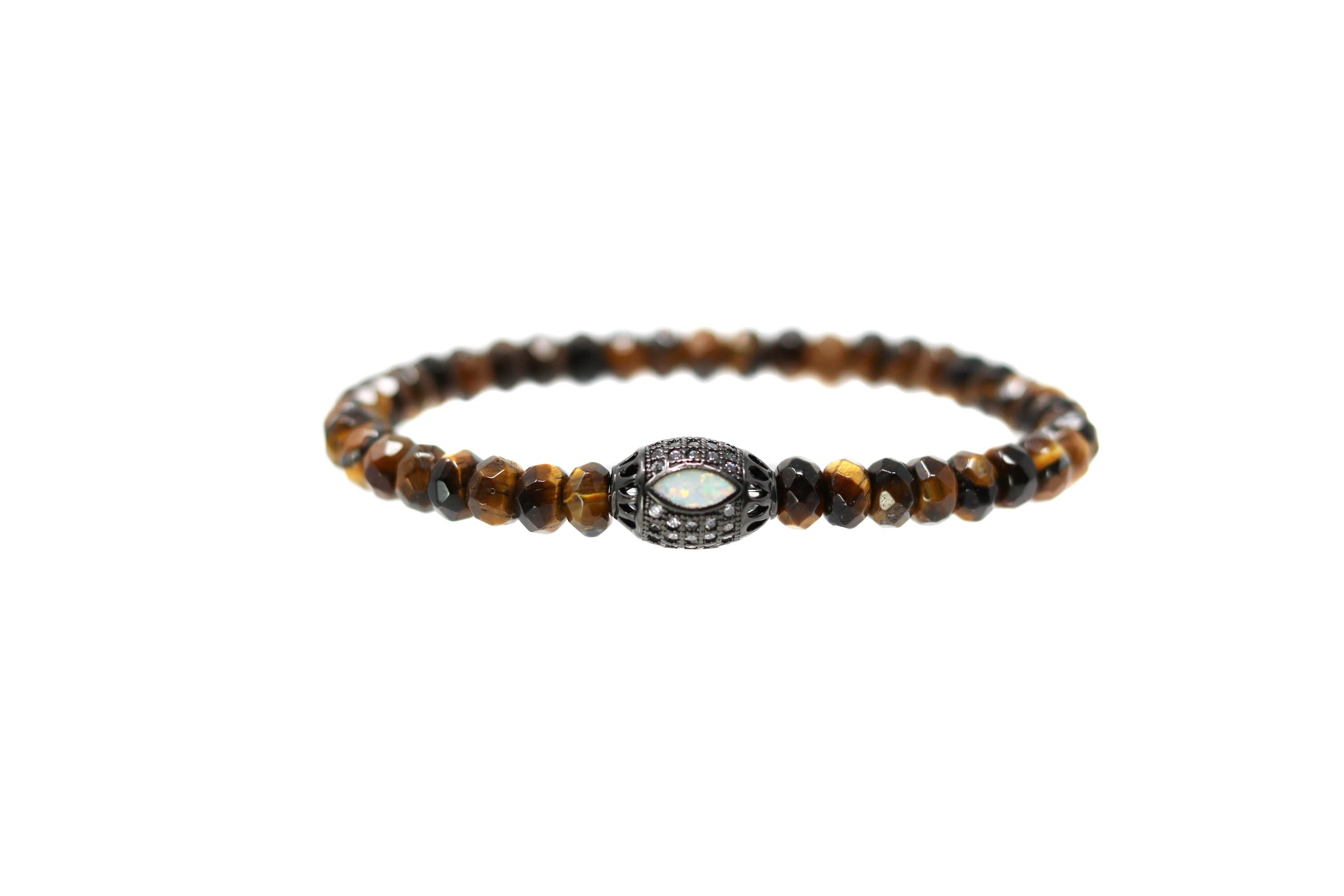 Opal Eye Mens Tiger eye bracelelt