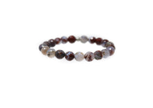 Load image into Gallery viewer, red agate bead bracelet