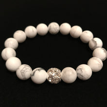 Load image into Gallery viewer, White Beaded Bracelet
