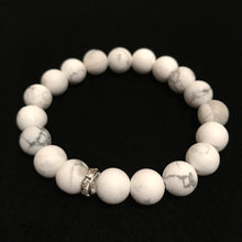 Load image into Gallery viewer, Howlite Beaded Bracelet