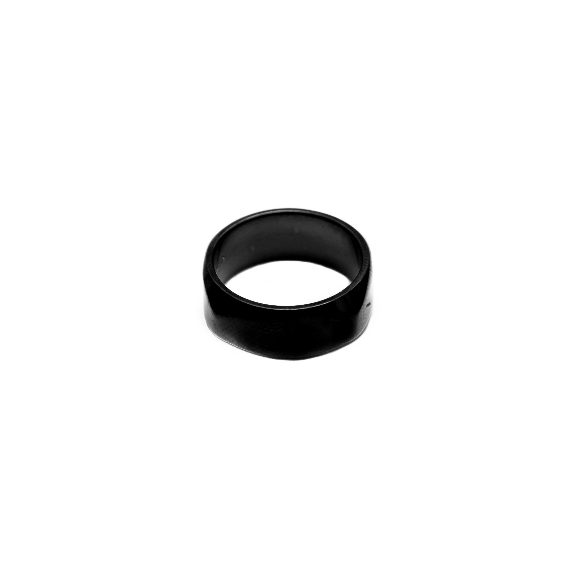Black Bolt Black Mens Ring