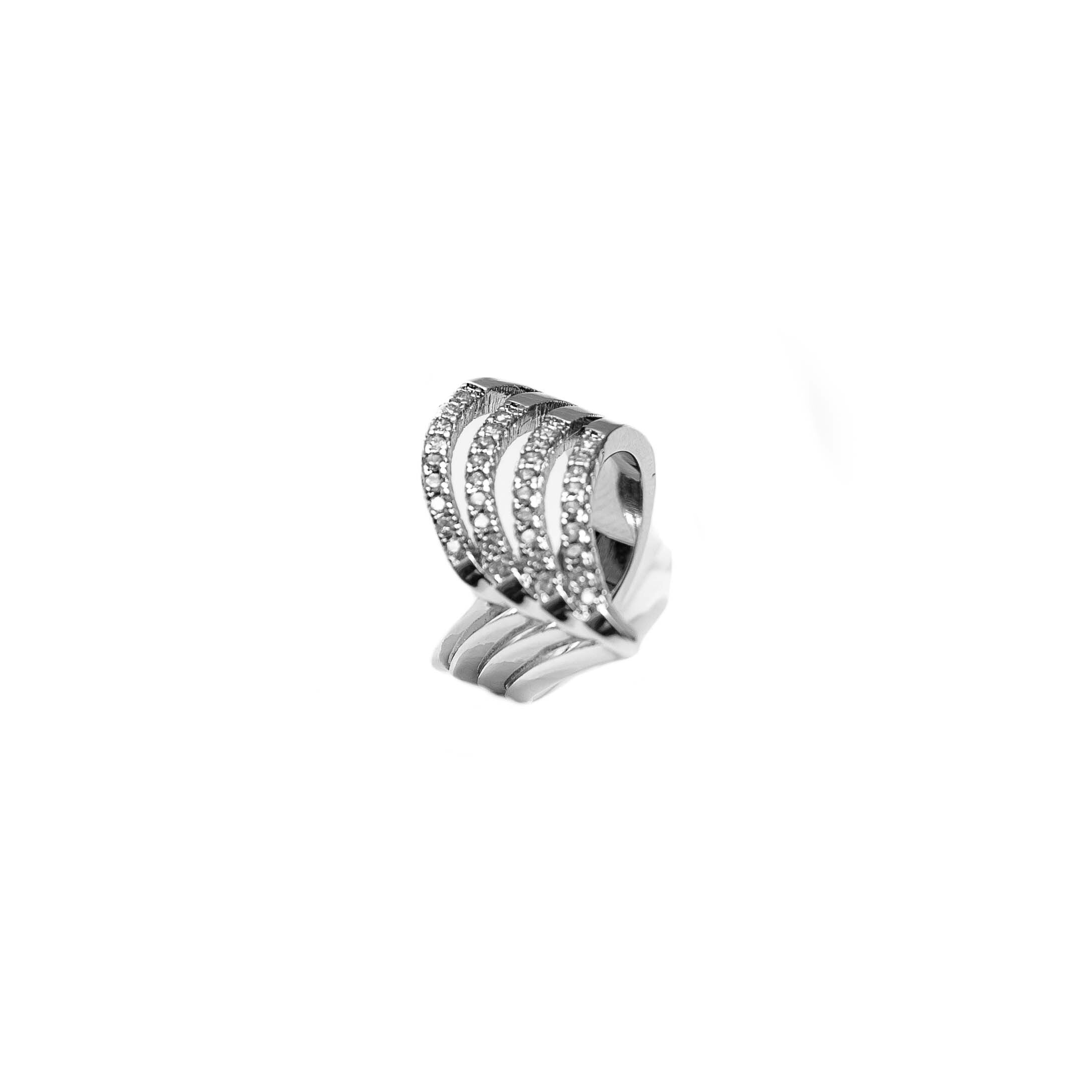 Silver Point Silver Womens Ring