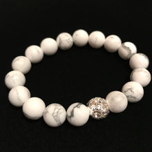 Load image into Gallery viewer, White Beaded Bracelets