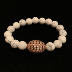 Rose Gold Howlite