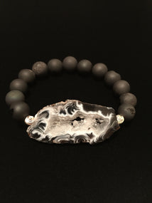 Water Wave Black Quartz
