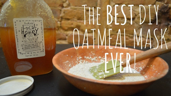 The BEST DIY Oatmeal Mask Ever - Super Simple, Super Easy.