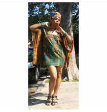 "Kannu Collection: ""The I LOVE BARRY"" Handmade Dashiki feat. Pres. Barak Obama"